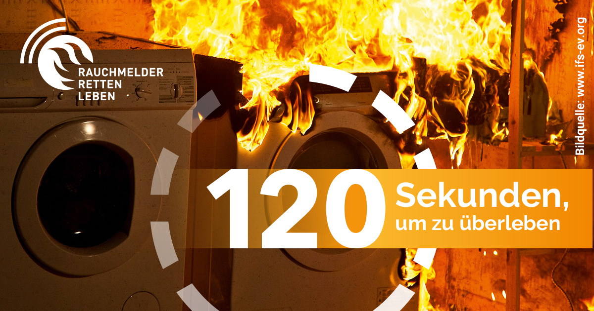 Rauchmelder retten Leben! – Rauchmeldertag am 13. November
